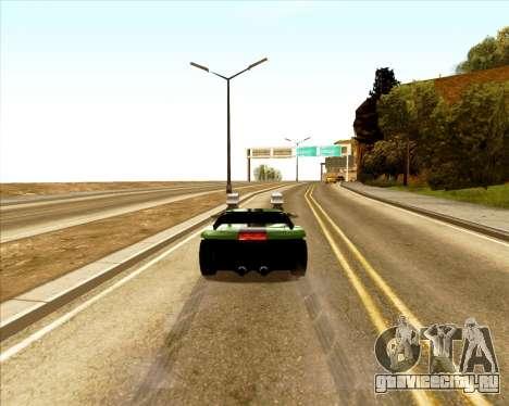 Banshee Twin Mill III Hot Wheels для GTA San Andreas вид сзади