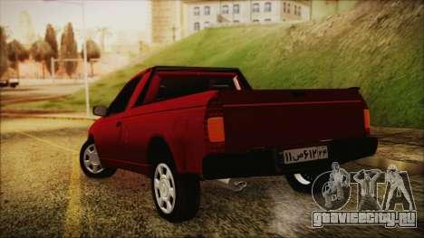 Ikco Arisun для GTA San Andreas вид слева