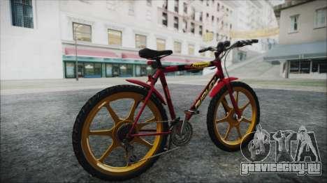 Mtbike HD для GTA San Andreas вид сзади слева