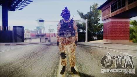 MW2 Russian Airborne Troop Desert Camo v4 для GTA San Andreas второй скриншот