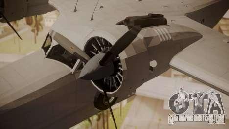 Grumman G-21 Goose Paintkit для GTA San Andreas вид справа