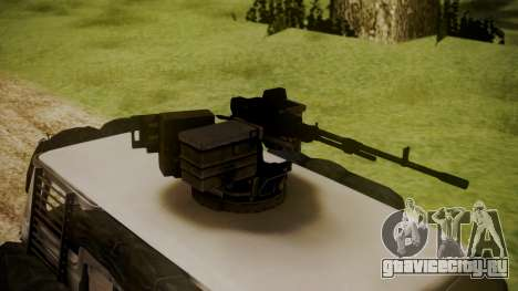 BF3 Rhino для GTA San Andreas вид сзади слева