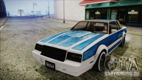 GTA 5 Willard Faction Custom для GTA San Andreas вид справа
