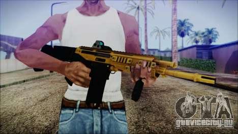 Bushmaster ACR Gold для GTA San Andreas третий скриншот