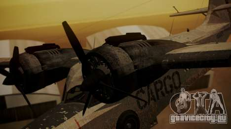 Grumman G-21 Goose N56621 Rusty для GTA San Andreas вид справа