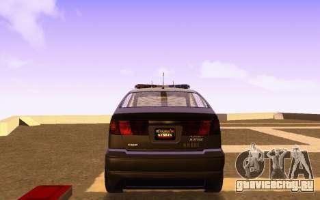 Karin Dilettante N.O.O.S.E. для GTA San Andreas вид сзади слева