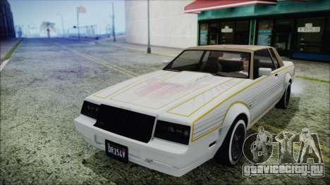 GTA 5 Willard Faction Custom для GTA San Andreas вид сзади