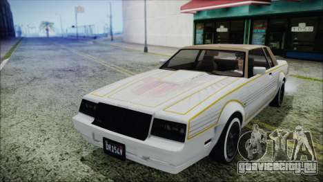 GTA 5 Willard Faction для GTA San Andreas вид сзади