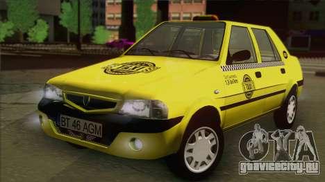 Dacia Solenza Taxi для GTA San Andreas