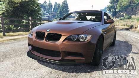 BMW M3 (E92) GTS v0.1 для GTA 5