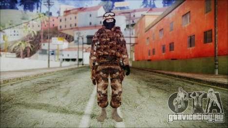 Chinese Army Desert Camo 4 для GTA San Andreas второй скриншот