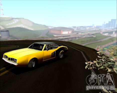 Clover Barracuda для GTA San Andreas вид сбоку