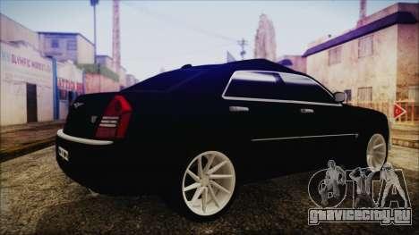 Chrysler 300С Unalturan для GTA San Andreas вид слева