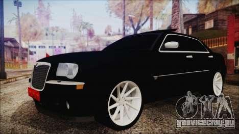 Chrysler 300С Unalturan для GTA San Andreas вид сзади слева