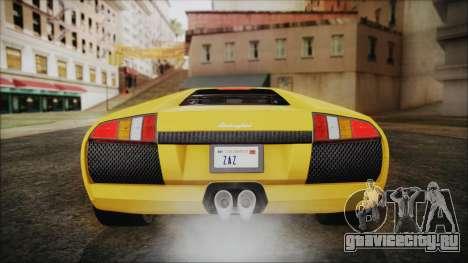 Lamborghini Murcielago 2005 Yuno Gasai IVF для GTA San Andreas салон