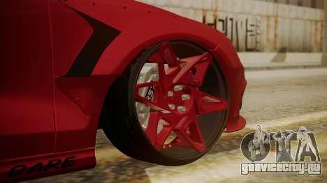 Audi RS7 X-UK L3D для GTA San Andreas вид сзади слева