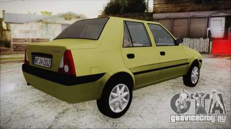 Dacia Solenza для GTA San Andreas вид слева