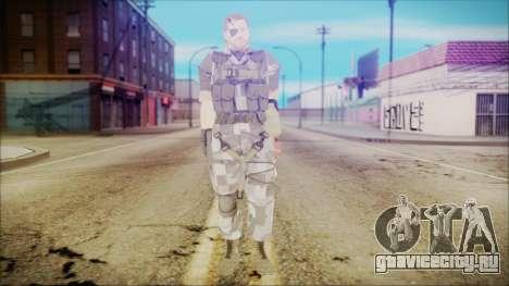 MGSV Phantom Pain Snake Normal Square для GTA San Andreas второй скриншот