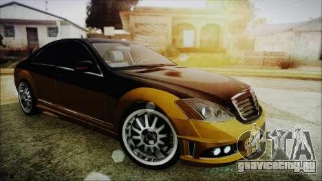 Carlsson Aigner CK65 RS v2 для GTA San Andreas