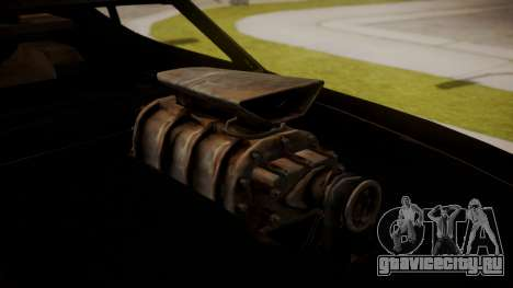 Ford Falcon Coupe XB GT 1973 Max Interceptor для GTA San Andreas вид сзади слева