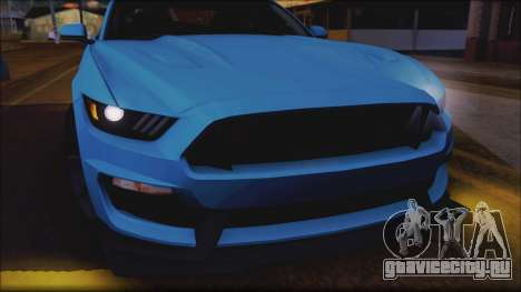 Ford Mustang Shelby GT350R 2016 No Stripe для GTA San Andreas вид сбоку