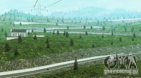 Stelvio Pass Drift Track для GTA San Andreas третий скриншот