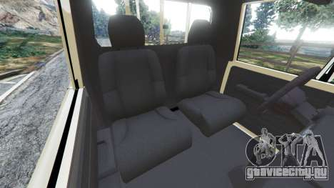 Toyota Land Cruiser LX Pickup 2016 для GTA 5 вид справа