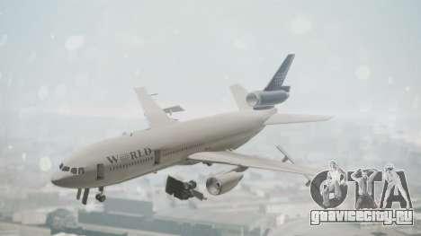 DC-10-30 World Airways (Blue Tail) для GTA San Andreas