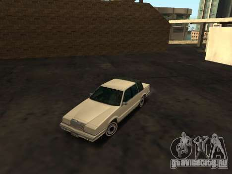 Chrysler New Yorker 1988 для GTA San Andreas вид сбоку