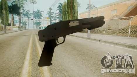 GTA 5 Sawnoff Shotgun для GTA San Andreas третий скриншот
