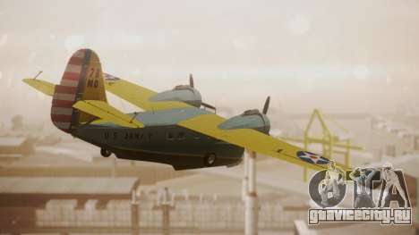 Grumman G-21 Goose N130FB для GTA San Andreas вид слева