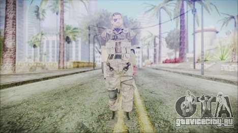 MGSV Phantom Pain Snake Scarf Olive Drab для GTA San Andreas второй скриншот