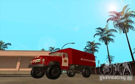 ЗиЛ 130 МЧС Украина для GTA San Andreas вид слева