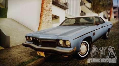 Oldsmobile Delta 88 1973 Final для GTA San Andreas