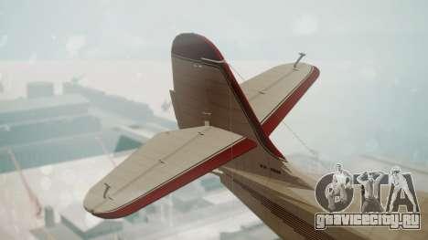 Grumman G-21 Goose VHIRM для GTA San Andreas вид сзади слева