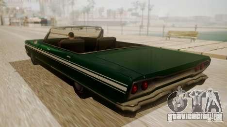 Savanna FnF Skin для GTA San Andreas вид слева