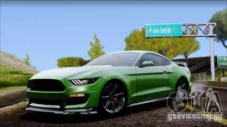 Ford Mustang Shelby GT350R 2016 No Stripe для GTA San Andreas
