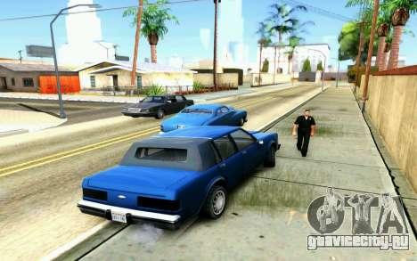 ENB for Medium PC для GTA San Andreas пятый скриншот