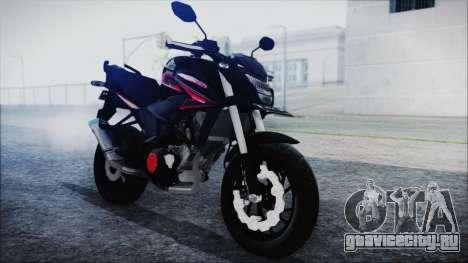 Honda CB150R Black для GTA San Andreas вид справа