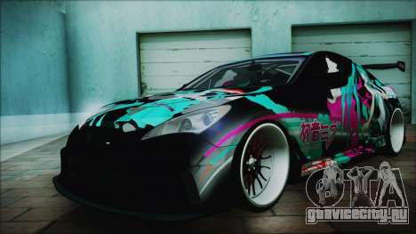 Hyundai Genesis Coupe Hatsune Miku Itasha PJ для GTA San Andreas