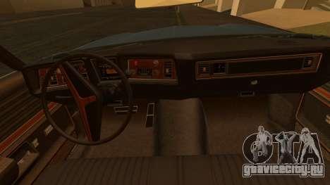 Oldsmobile Delta 88 1973 Final для GTA San Andreas вид сзади слева