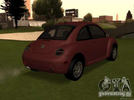 VW New Beetle 2004 Tunable для GTA San Andreas вид слева