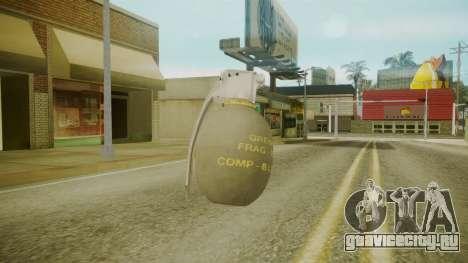 GTA 5 Grenade для GTA San Andreas третий скриншот