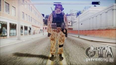 MW2 Russian Airborne Troop Desert Camo v4 для GTA San Andreas третий скриншот