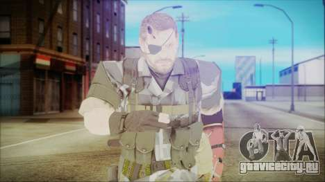 MGSV Phantom Pain Snake Normal Square для GTA San Andreas
