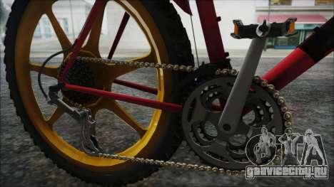 Mtbike HD для GTA San Andreas вид сзади