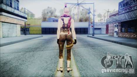 Mila Short Hair from Counter Strike для GTA San Andreas третий скриншот