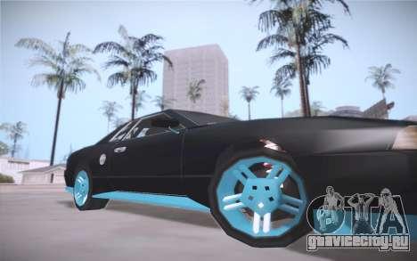 Elegy DRIFT KING GT-1 (Stok wheels) для GTA San Andreas вид слева