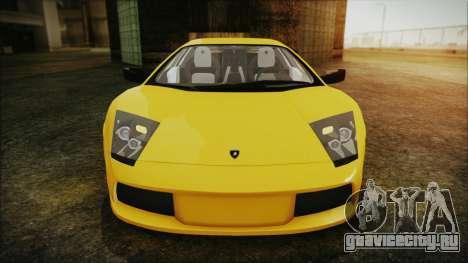 Lamborghini Murcielago 2005 Yuno Gasai IVF для GTA San Andreas вид сбоку