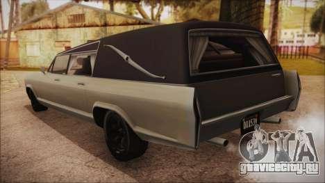 GTA 5 Albany Lurcher Bobble Version IVF для GTA San Andreas вид слева